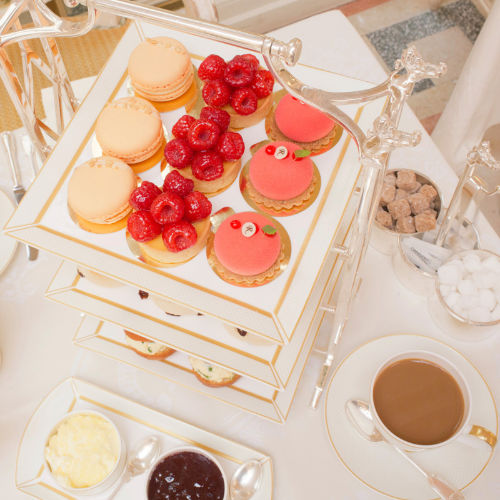 gift of afternoon tea at the ritz