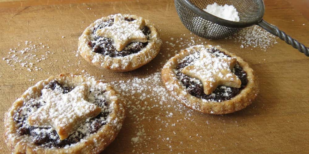Fattening Christmas mince pies can also make you fitter