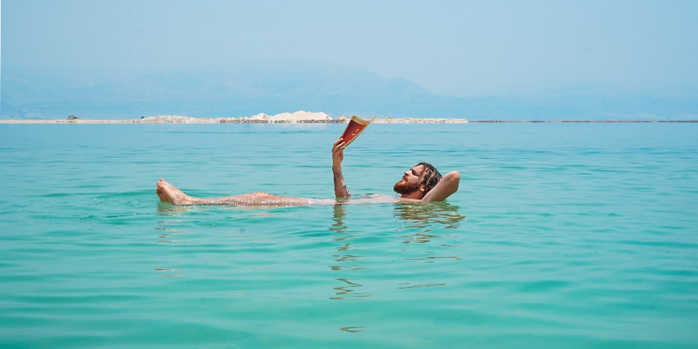 A relaxing massage at home can be as soothing as floating on your back in the Dead Sea