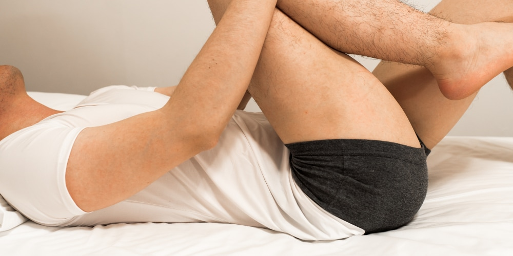 Stretching buttock muscles for sciatica pain relief